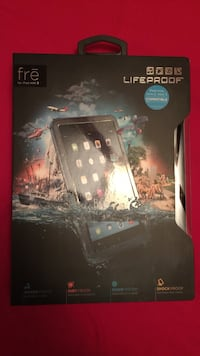 Black Fre Lifeproof iPad case box Centreville, 20121