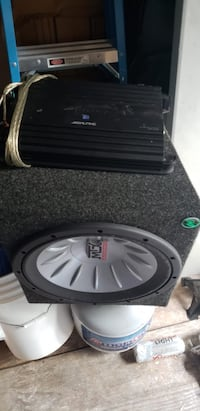 black and gray car subwoofer Adelphi, 20783