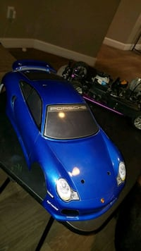 New RC hand painted Porsche Body for a RC Car.  Las Vegas, 89108
