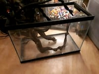 black framed glass pet tank Toronto, M9V 5E5