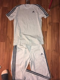 New with tags Adidas matching sweatpants and Tshirt  Grande Prairie