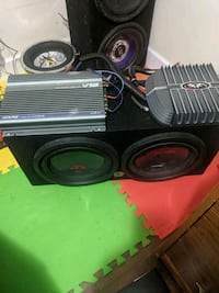 alpine type r subwoofers and.amps