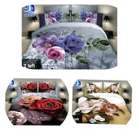 3D bedsheet buy one get second half price  Mississauga, L5M