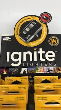 Ignite Rechargeable USB Lighter with SD reader