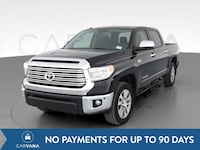 2017 Toyota Tundra CrewMax pickup Limited Pickup 4D 5 1/2 ft Black Petersburg