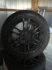 All 4 Original Nissan Altima Wheels and Tires