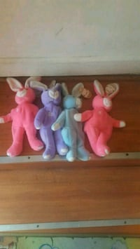 4 Beanie Babies rabbits brand new firm price Pico Rivera, 90660