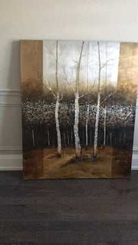 "Wall art 50x60"". Beautiful high end In perfect condition Caledon, L7E 4H7"