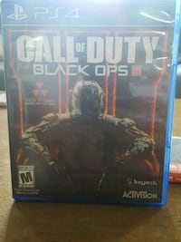 Call of Duty Black Ops 3 PS4 game case Norfolk, 23513