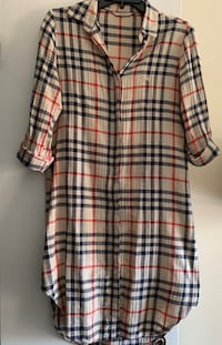 Woman Burberry Tie-waist Shirtdress Herndon, 20170