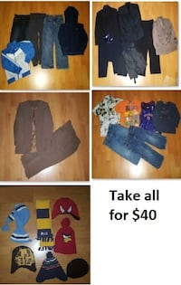 4T Boy Clothing Lot 2 (Take 28 Pieces for $40) Mississauga