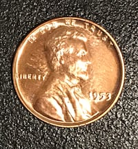 1953 Proof Lincoln cent Cottonwood, 96022
