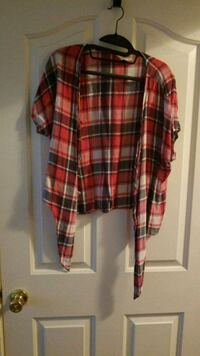 Red and blue flannel  Smyrna, 37167