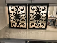 Iron Wall Art (2) $20/ea or $35/pair Purcellville, 20132