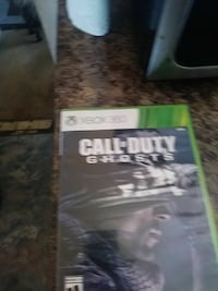 Xbox 360 Call of Duty game case 469 mi