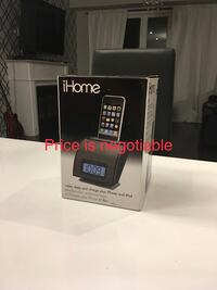 BRAND NEW IN BOX iHome IH11 Alarm Clock w/ Dock for iPod  Guelph, N1E 0H8
