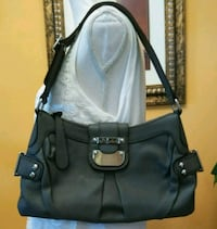 Guess Gray Faux Leather Silver Buckle Shoulder Bag Cape Coral, 33993