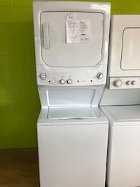BRAND NEW GE white stacked washer and dryer unit 2 Woodbridge, 22191