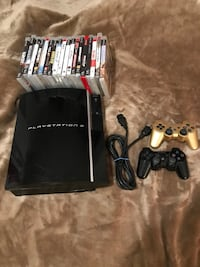 PS3 with 20 games and two controllers Toronto, M3J 1V6