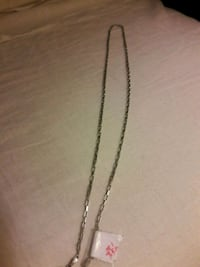 silver chain link necklace with pendant Anaheim, 92802