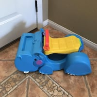 FISHER PRICE GOBBLE & GO HIPPO BABY TODDLER WALKER RIDER Temecula