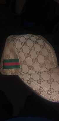 brown authentic gucci hat (msg for better offer) Markham, L3T 1Z7