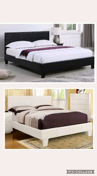 Full or queen bed with mattress  Las Vegas, 89131