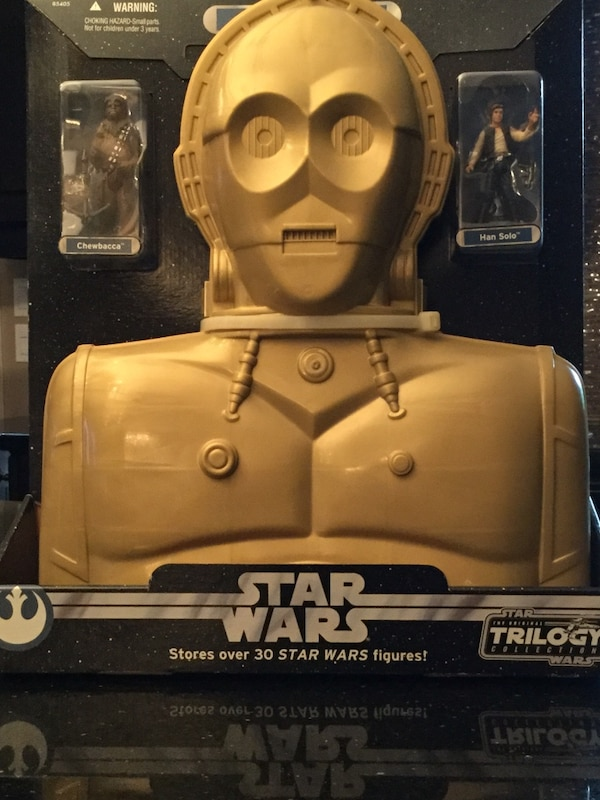 Rare Collectable Star Wars Original Trilogy Collection C3PO Carry Case From 2004