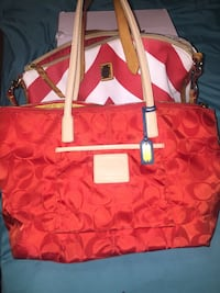 red and white Coach tote bag Phoenix, 85037