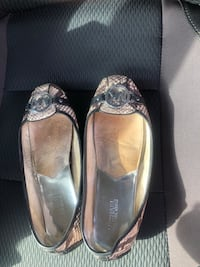 pair of black leather flats Ashburn, 20147