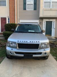 2008 Land Rover Range Rover Sport HSE White Plains