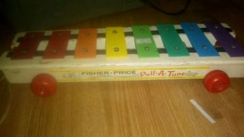 1964 Fisher-Price Pull-a-Tune Toy.