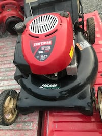 Push Mower with Bagger