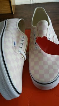 Vans Classic Checkerboard Pink/Creme Henderson, 89014