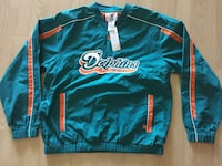 Dolphins waterproof pullover windbreaker jacket  Cooper City, 33328