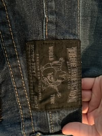 True religion jeans for men, Armani blazer, Polo sweater vest, American eagle jeans Falls Church, 22046