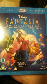 disney fantasia 1 and 2 blu ray  Surrey, V4N 5T9