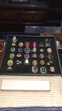 Handcrafted sterling rings New Bedford