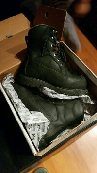 Steel toe boots,  size 9 Burnaby, V5J 3Y3