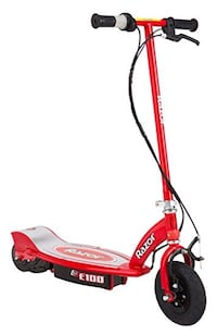 red and black Razor E100 motorized kick scooter Leesburg, 20175