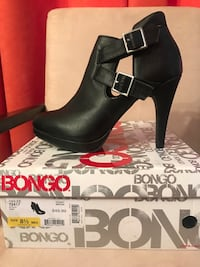 Cute Black Bongo Booties Size 8.5 Silver Spring, 20902