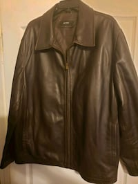 Mens XXL Alfani leather jacket Palm Coast