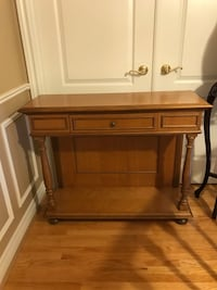 Hall Console, Chair & Mirror