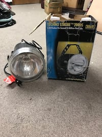 Commercial grade strobe light used once