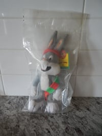 """*New in Package* McDonalds 1992 Looney Tunes """"Bugs Bunny"""" $5 PU Morinv"""