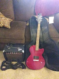 Electric Guitar everything included   Aurora, 80016