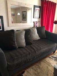 Gray sofa 90 inches Carrollton, 75006