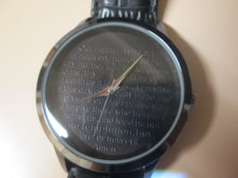 watch with bible verses