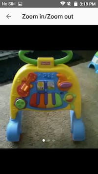 Baby learning walker toy