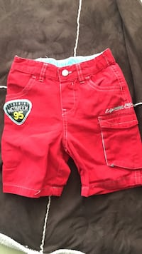 red and yellow shorts and red shorts Calgary, T3M 1B2